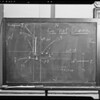 Blackboard diagrams, Southern California, 1940