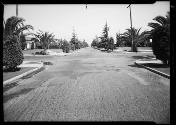 Intersection of Marguerita Avenue and 20th Street, Santa Monica, CA, 1935