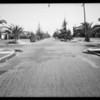 Intersection of Marguerita Avenue and 20th Street, Santa Monica, CA, 1935