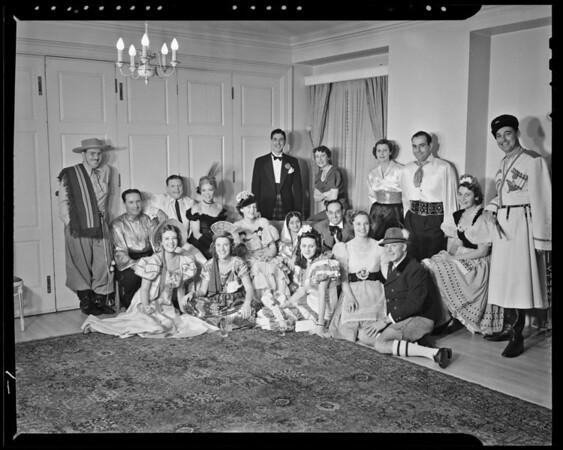 Bachelors Ball at The Town House, Los Angeles, CA, 1940