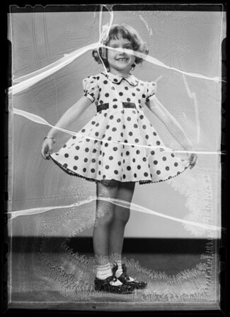 Marilyn, Southern California, 1936