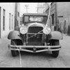 Car belonging to Mr. Hampton, Southern California, 1935