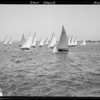 Their negatives of harbor scene, Southern California, 1935