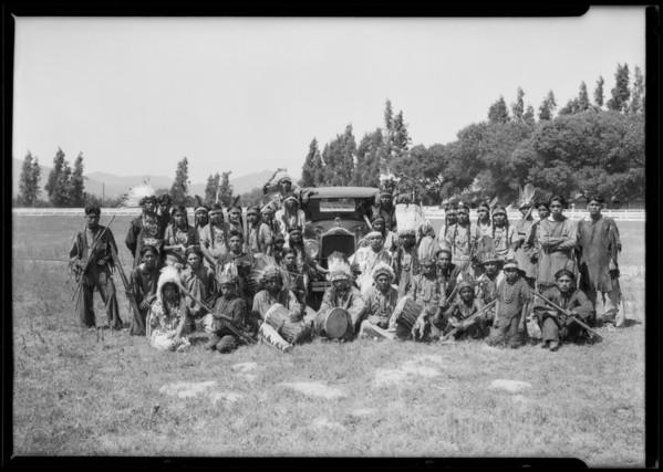 Indians at Riverside Fair, Riverside, CA, 1926