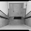Stairway at 1861 North Whitley Avenue, Los Angeles, CA, 1940