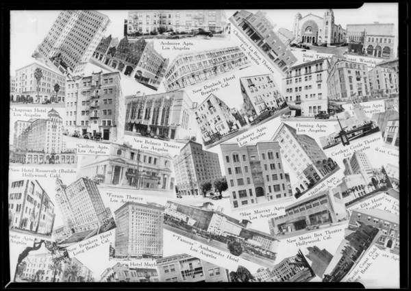 Buildings, Southern California, 1927