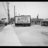 Alley drive-way at Main Street and Slauson Avenue, Los Angeles, CA, 1935