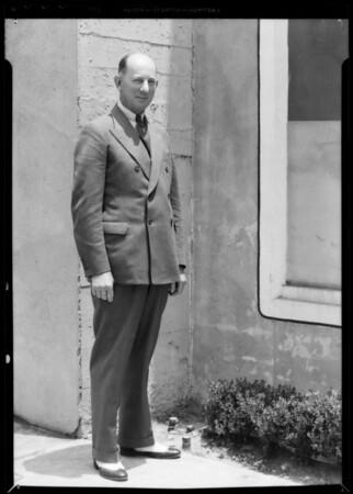 Mr. Nelson of Lyon Van & Storage Co., Southern California, 1935
