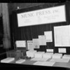 Booth at M.A.E. Cat Biltmore Hotel, 506 S Grand Ave, Los Angeles, CA, 1940