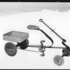 Spring toy scooter, Southern California, 1927