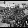 Float in Rose Parade, Pasadena, CA, 1936