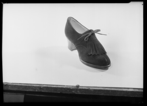 Shoes, Bullock's, Southern California, 1935