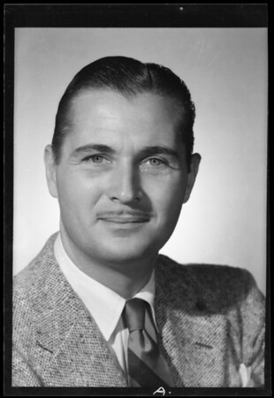 Model, Stuart Hall, Southern California, 1940