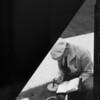 Meter reading, Southern California, 1935