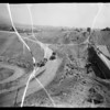 Debris basin at La Crescenta-Montrose, CA, 1935