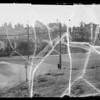 Scene of accident on Glendale Boulevard, Los Angeles, CA, 1936