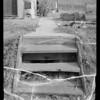 Steps to alley at Coronado Terrace Apartments, 413 Coronado Terrace, Los Angeles, CA, 1935