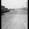 Intersection of Pico Avenue and El Camino Real, Olson vs. Perran, Southern California, 1935