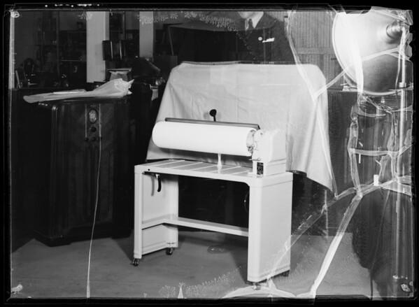 Ironer, Southern California, 1936