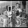 Mr. Cavanaugh anniversary coach, Southern California, 1935