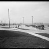 Leimert Park auto traffic, Pico Boulevard Center Tract, Los Angeles, CA, 1927