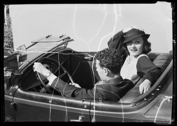 """""""Just the car we wanted"""", Southern California, 1936"""