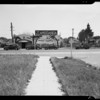 Intersection of West Slauson Avenue and South Harcourt Avenue, View Park-Windsor Hills, CA, 1940