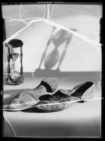 Old slippers, Southern California, 1935