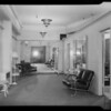 Dressing room showing heater, changing rooms, etc., at Western Costume Co., Gitterman vs. Western Costume, 5335 Melrose Avenue, Los Angeles, CA, 1940