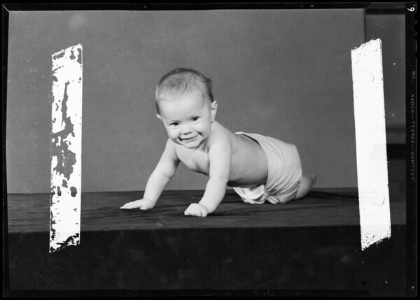 Marsha Way baby, Southern California, 1940