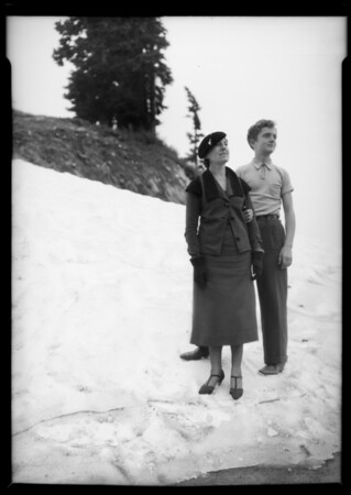 Scenes on Vancouver trip, Canada, 1935