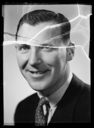 Portrait of Mr. Bireley, Southern California, 1935