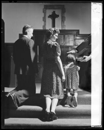 Baptismal, Southern California, 1936