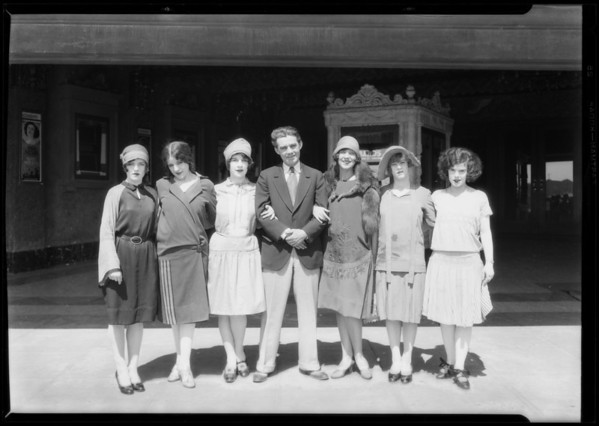 Meiklejohn show at Bard's Theater, Southern California, 1927