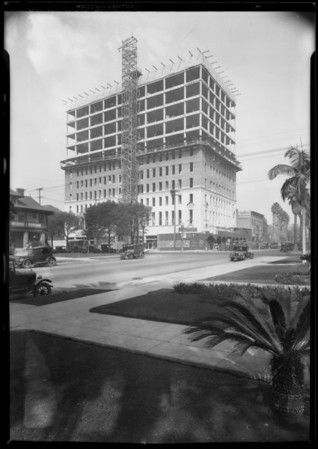 Beaux Arts, 8th & Beaudry, Southern California, 1926
