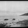 Cloud pictures along Palisades, taken in 1926, Los Angeles, CA, 1936