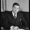 Mr. Dickson, Western Federal Savings & Loan Co., West 6th Street and South Hill Street, Los Angeles, CA, 1940