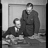 Purex warehouse and executives, Southern California, 1940