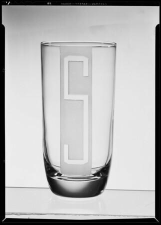 3 glasses, Southern California, 1940
