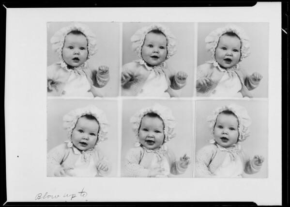 Baby photos, Southern California, 1936