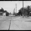 Intersection of North Las Palmas Avenue and Lexington Avenue, Los Angeles, CA, 1935