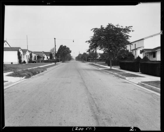 Hoefner Avenue in Belvedere Gardens, East Los Angeles, CA, 1940