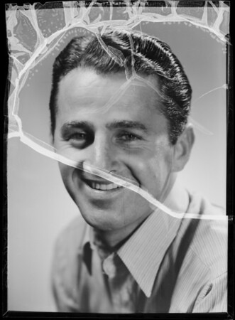 Portrait of Charlie Blair, Southern California, 1936