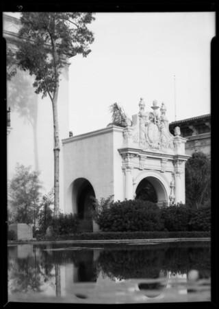 Shots at San Diego fair, San Diego, CA, 1935
