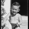 Baby's head, Southern California, 1935