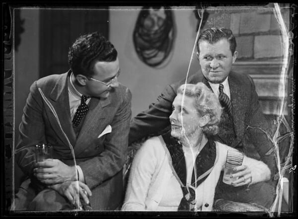 Mrs. Wallace Berry with Stuart Irwin, Southern California, 1935