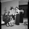 Sorority at Saks store, Southern California, 1940