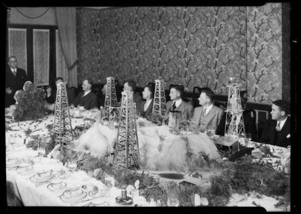 35-year club dinner, Southern California, 1935