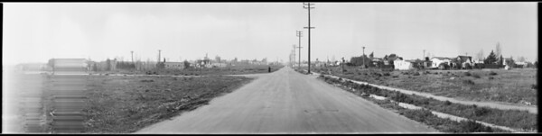 Road and houses, Southern California, [s.d.]