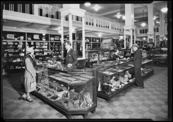 Schwabacher-Frey interior, 738 South Broadway, Los Angeles, CA, 1926